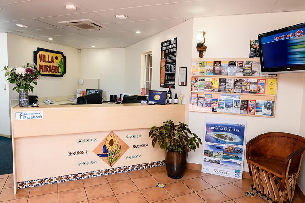 Villa Mirasol Motor Inn Reception